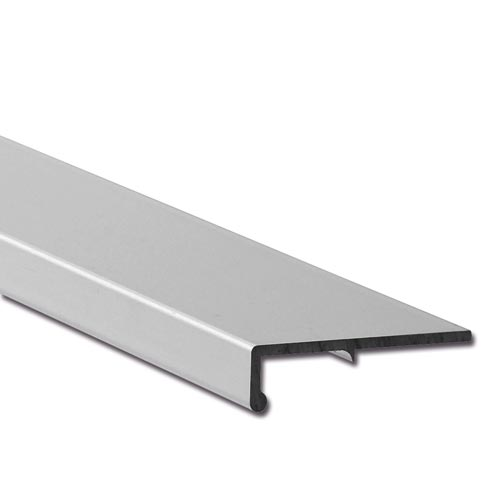 Aluminium griffleiste bolero for Design couchtisch remember in silber aus aluminium